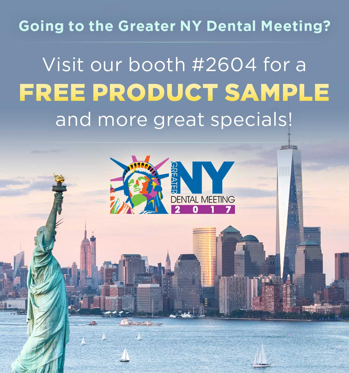 Free Parkell Product Sample Booth #2604