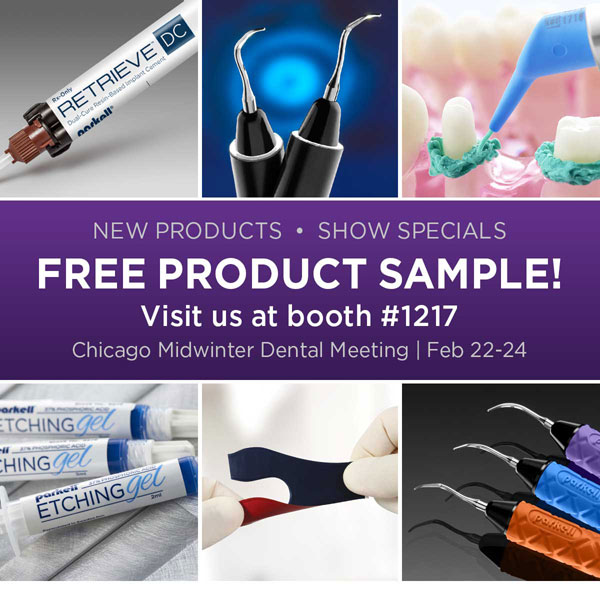 Free Sample - Parkell Booth #1217